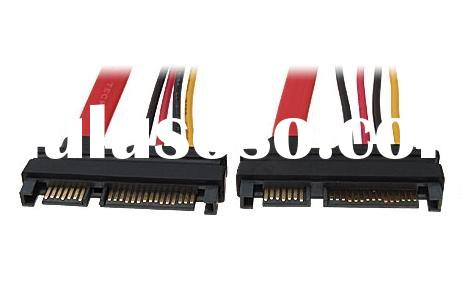 15+7 Pin SATA Male to Male Power Cable