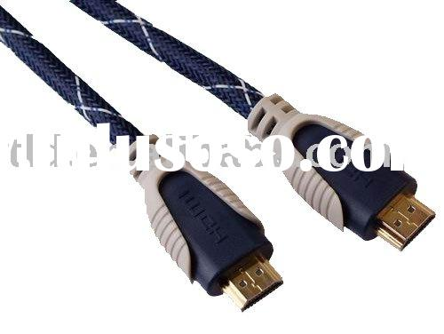 1.8M HDMI to HDMI Cable - Gold Connectors - For Use With HD TV's / Xbox 360 / PS3 etc