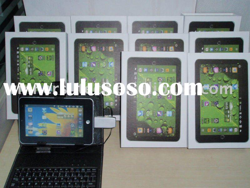 2.2 OS 7 inch  tablet pc with  USB adaptor  cheapest and  most popular model