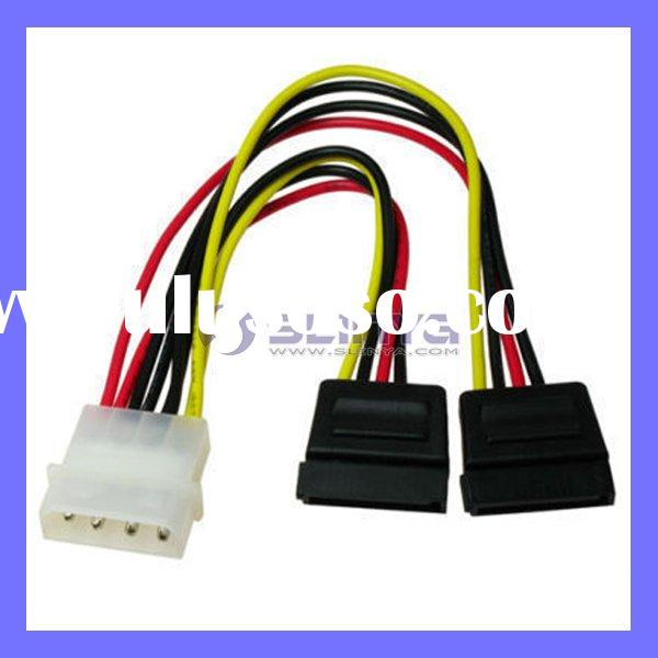 4 Pin IDE to SATA Power Cable