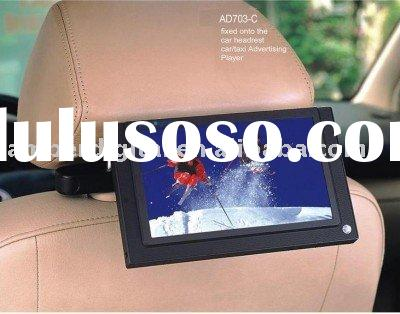 7 inch LCD Car/taxi advertising player, taxi POP/POS media player,LCD digital sign(CE&FCC)