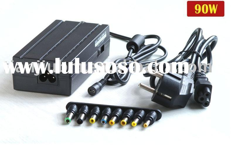 90W Universal Laptop Charger  with AC Power Cable