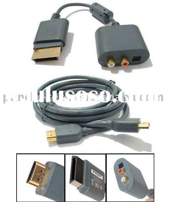 For Xbox 360 HDMI HD AV Cable