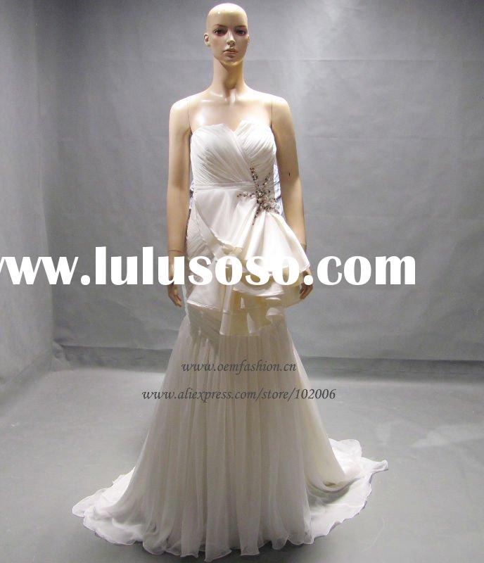 Gorgeous Wedding Dress Real Sample HL-WRS1103