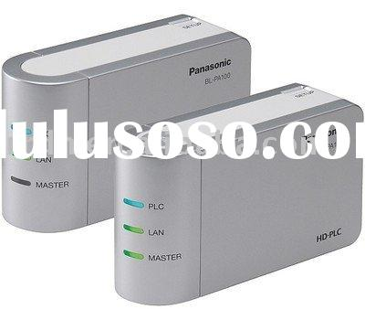 High Definition Powerline Communication Ethernet Adapter with 4 to 28MHz Frequency Band