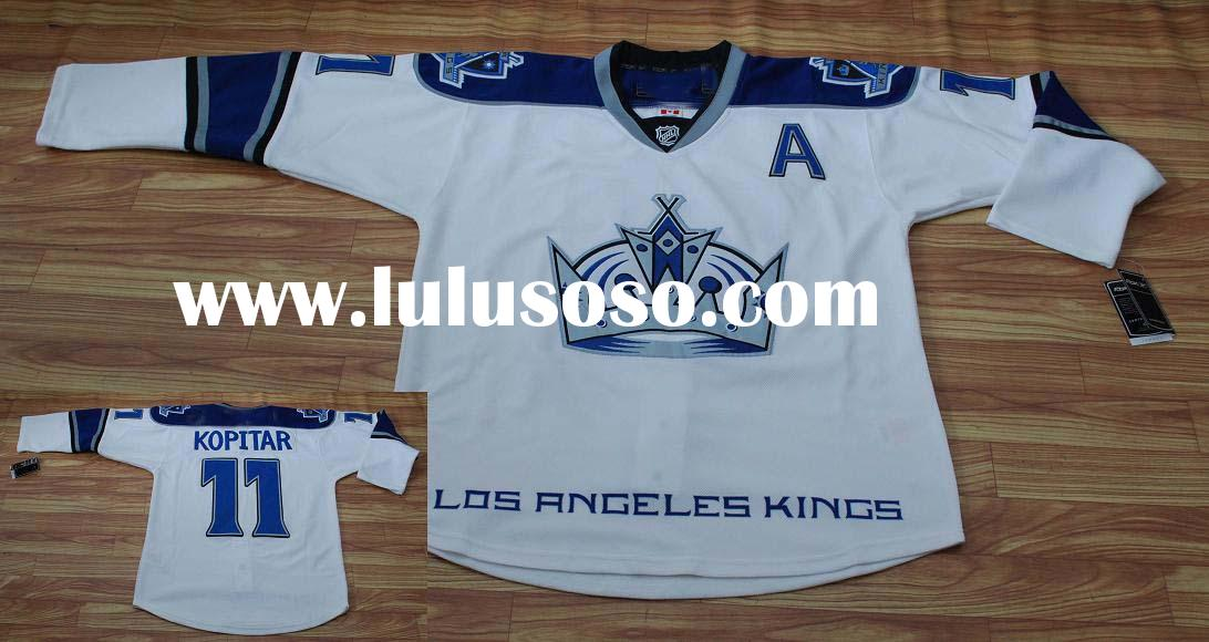 Los Angeles King 11# Kopitar Authentic Ice Hockey Jersey