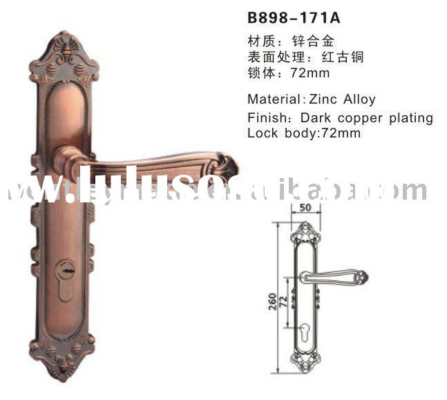 Mortise lock in construction and real estate