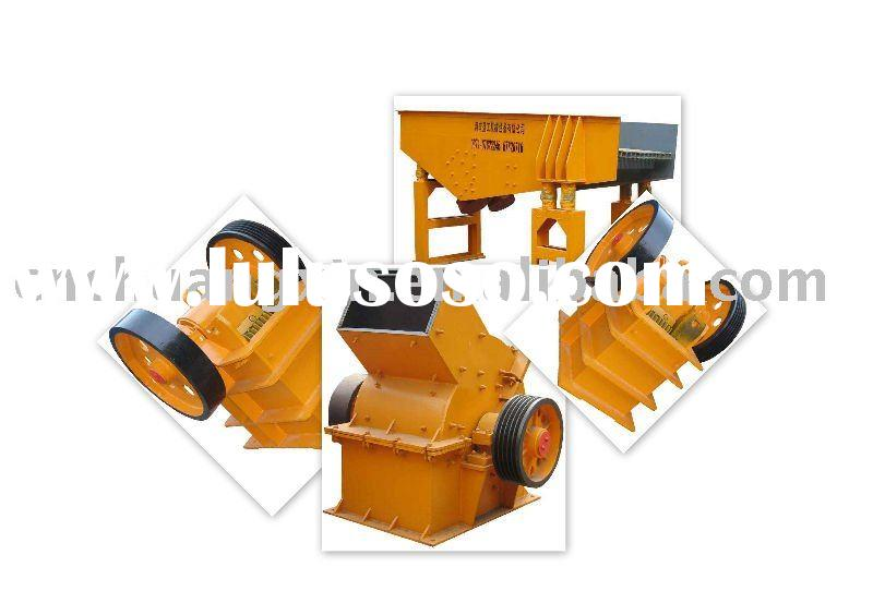 New China crusher in construction and real estate