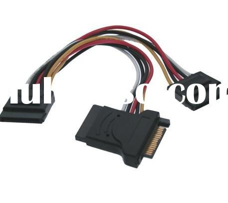 SATA 15-Pin Power cable Splitter