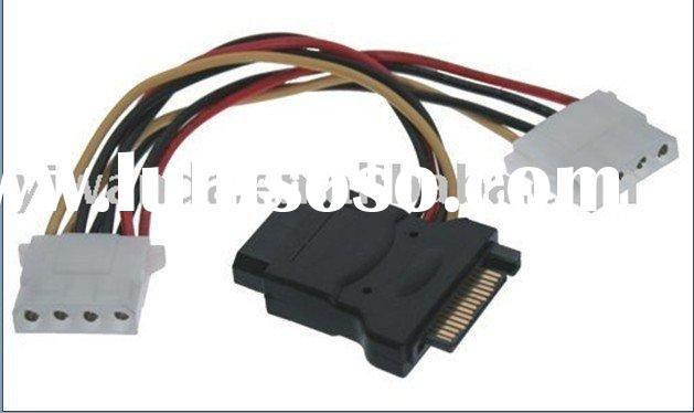 SATA  Power adapter y sata power cable