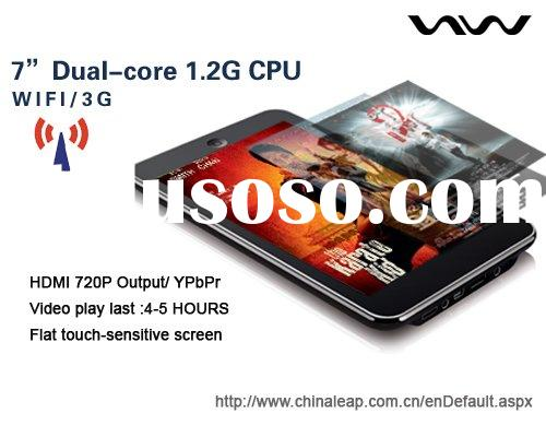"""Tablet PC, e-pad, Dual -Core 1.2G  7"""" touch screen MID  tablet PC ANDROID GOOGLE SYSTEM"""