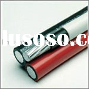 Triplex service drop power cable-ACSR conductor for American sizes