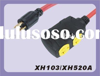 Twist Locking Plug, Generator Power Cable Manufacturer Ningbo Xuanhua Please contact Mr.Dennis