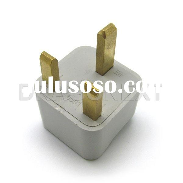 US AU EU to UK AC Power Travel Plug Converter Adapter