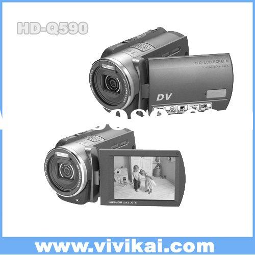 Vivikai 16.0MP Digital  Camcorder with two SD card Slot & Dual Power Source