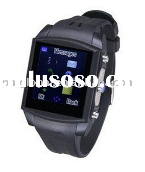 Watch Mobile Phone (Popular stainless steel design mobile phone, G2)