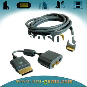 for xbox 360 HDMI AV cable