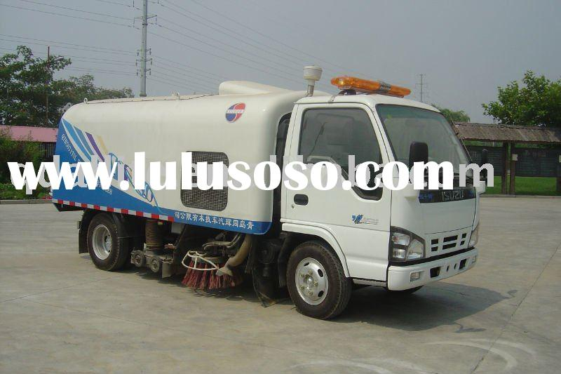 obtain national patent sweeper truck