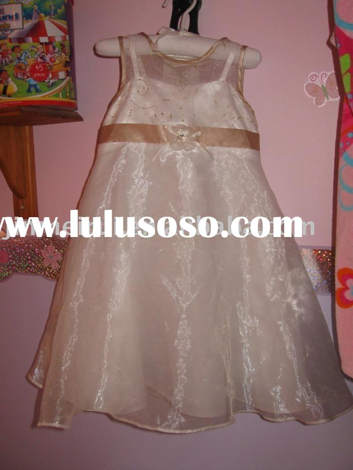 real picture flower girl dresses JR-308