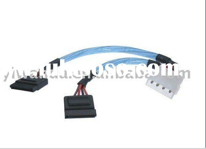sata power adapter and splitter cable ,sata power cable