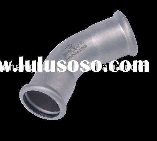 45 degree elbow-stainless steel press fitting