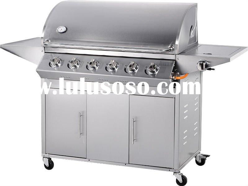 6-burners bbq gas grill AHSQ-A116Sstainless steel
