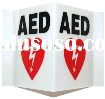 AED Sign safety sign first aid sign