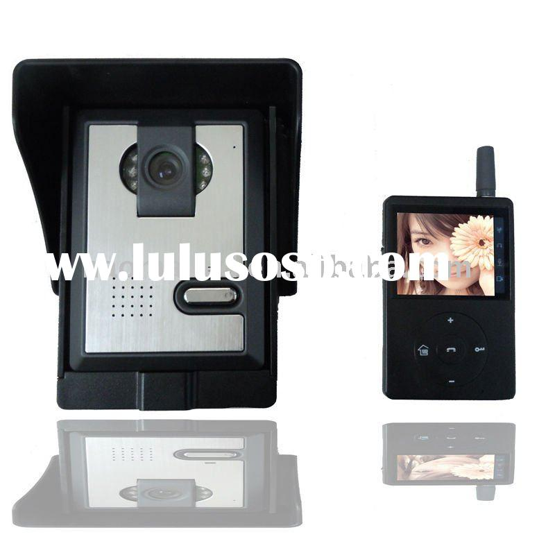 Automatic Image Storage Wireless Video Door Phone with 32GB Micro-SD card