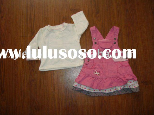 Baby Girls Clothing Sets,T-shirt+skirt