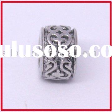Engravable Steel Pandora Beads