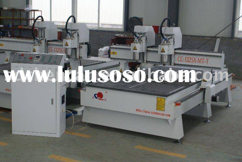 Furniture Making Machinery --CC1325X-MT-T (Two-heads Wood CNC Router)
