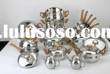Induction cookware set stainless