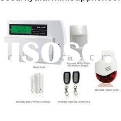 Smart GSM Network Wireless  Home  Alarm  System