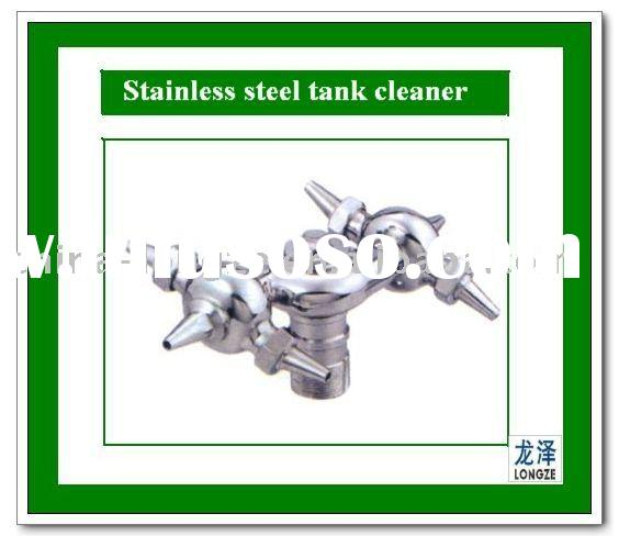 Stainless steel tank cleaner