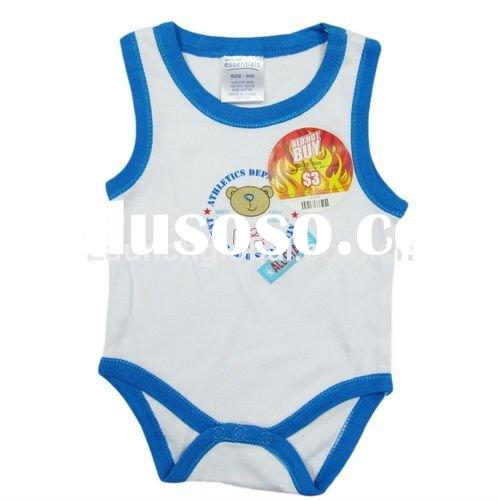Stock Infant Cotton Romper