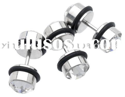 Surgical steel body jewelry