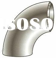 Welded stainless steel elbow