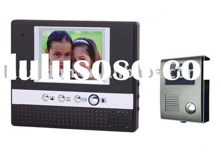 color Video door phone(home communication system,video intercom system)