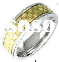 fashion stainless steel ring,jewelry manufacturer