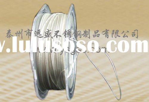 stainless steel colorful jewelry wire