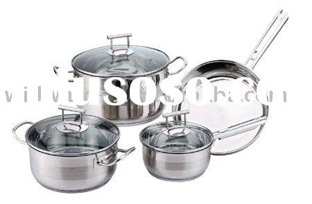 stainless steel cookware appliances
