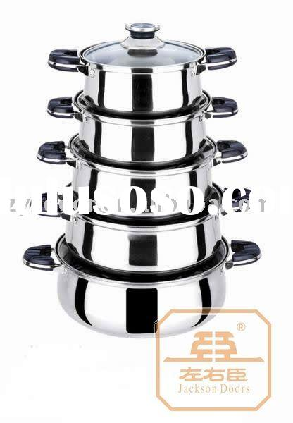 surgical steel cookware