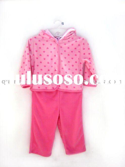 wholesale baby clothing, girls sets pajamas