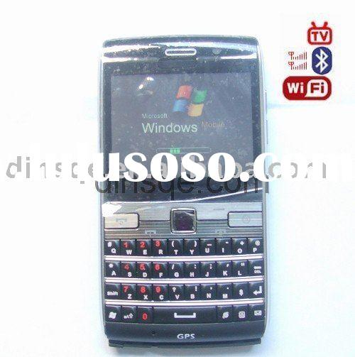 windows system+GPS+wifi+tv+dual sim card phone W73