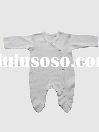 100% certified combed organic cotton Infant Romper