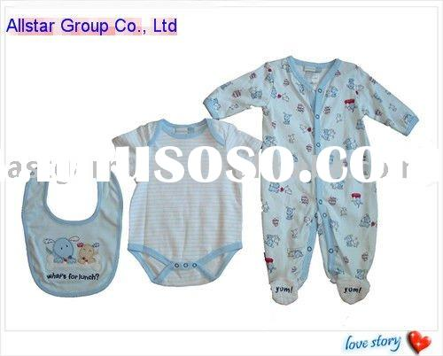100% cotton knitted baby clothes