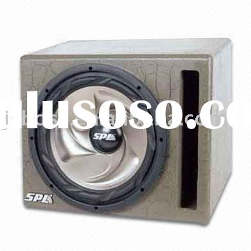 10-Inch Portable Subwoofer box used in car audio system