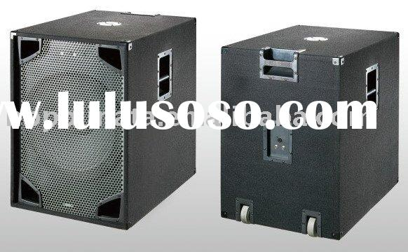 18 inch carpet 500 watts RMS power pa subwoofer