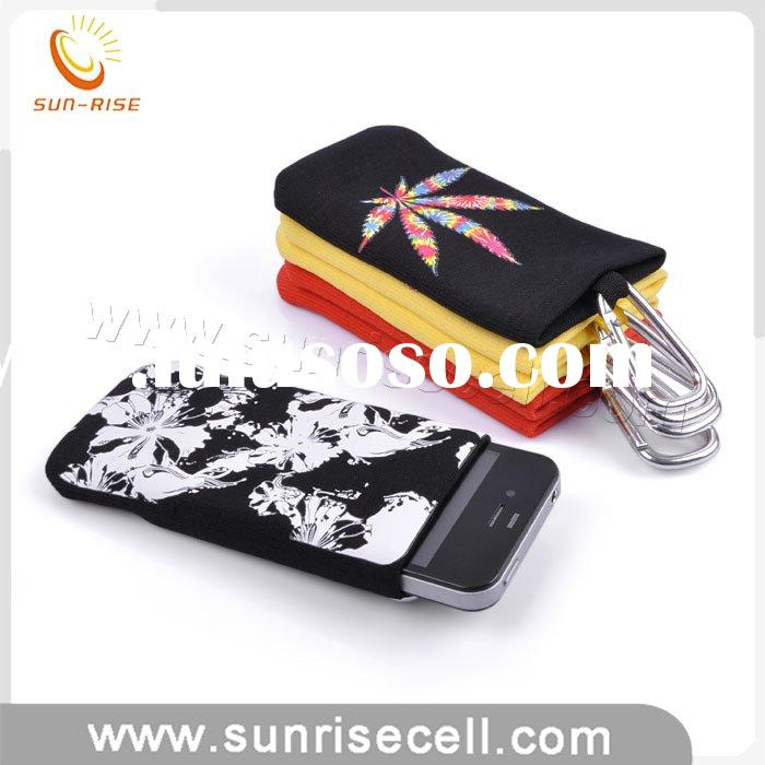 2010 New Design Mobile Phone pouch with metal belt
