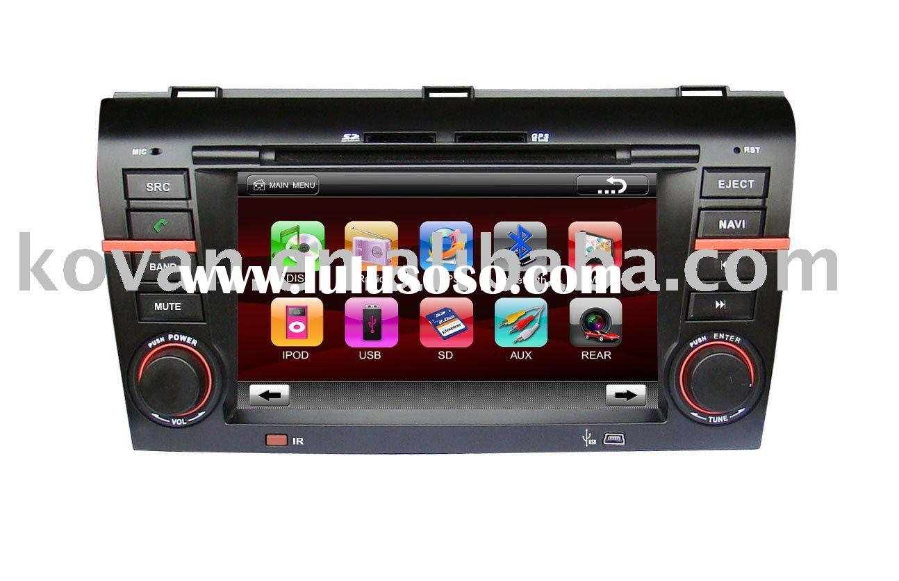 7 inch digital TFT Car DVD with Navigation for MAZDA 3